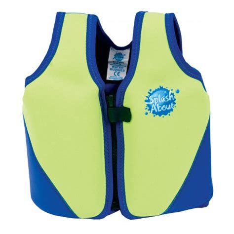 zwemvest splash about 11 18 kg splash about float jacket lime with blue zwemvesten nl
