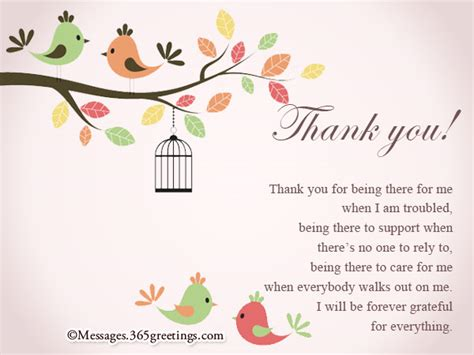 Thank You Gift Card Message - thank you card messages 365greetings com