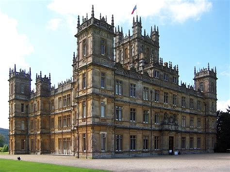 Chateau Style House Plans by Highclere Castle Wikipedia
