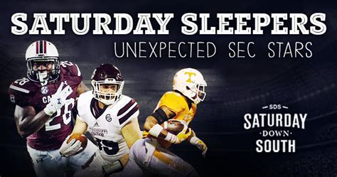 Football Sleepers Week 2 by Saturday Sleepers Sec Of Week 2