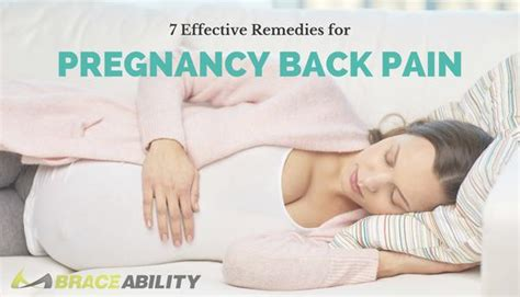 remedies  pregnancy  pain maternity supports exercises