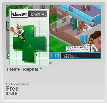 Theme Hospital Newspaper | theme hospital бесплатно в origin
