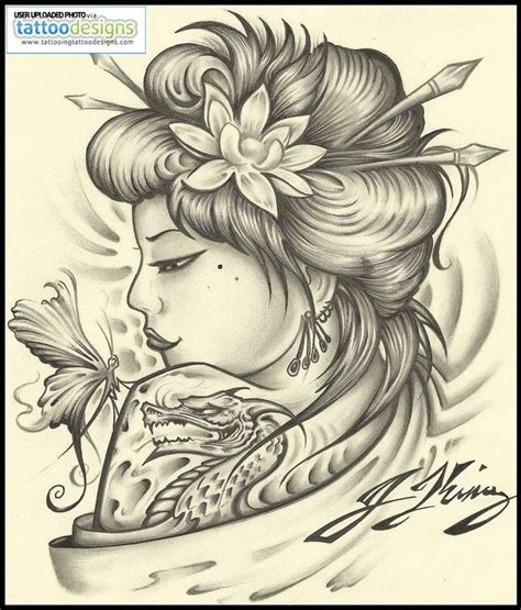 free download tattoo designs geisha designs geisha by jksart image