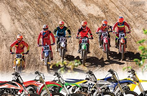 motocross action 450 shootout 2017 mxa 450 four stroke motocross shootout motocross