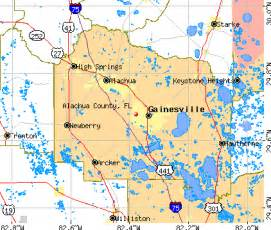 gainesville florida map alachua county map images