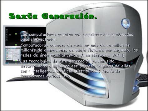 generacion de las computadoras diapositivas generacion de las computadoras