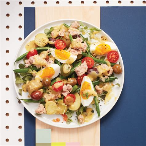 Fast Easy Dinner Salad Nicoise by Sprouted Ni 231 Oise Salad