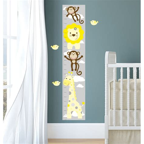 jungle nursery wall decals jungle animal nursery wall stickers
