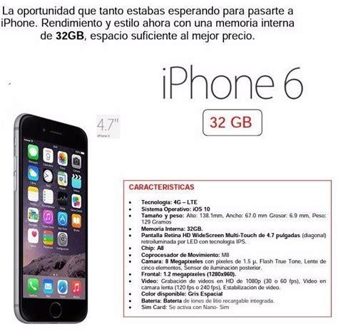 iphone 6 32 gb nuevo telcel garantia 1 a 241 o 7 999 00 en mercado libre