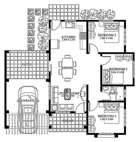 floor plans for a small house modern house design 2012003 pinoy eplans modern house