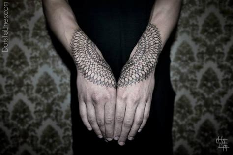 geometric tattoo nz arm dotwork geometric tattoo by dots to lines