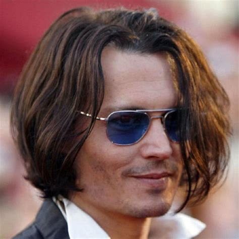 Johnny Depp Hairstyle by Johnny Depp Hairstyles S Hairstyles Haircuts 2017