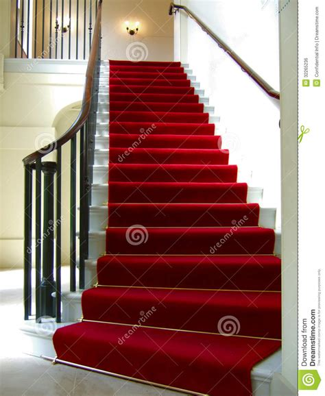 Re D Escalier by Carpet Stairwell Royalty Free Stock Image Image