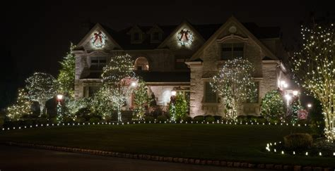 professional holiday decorations and lighting christmas