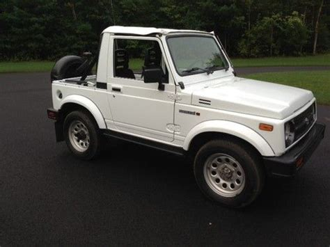 how to learn about cars 1994 suzuki samurai regenerative braking purchase used 1994 suzuki samurai 4x4 all original only