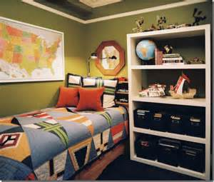 Boy s bedroom with usa map and earth globe designed by ron marvin