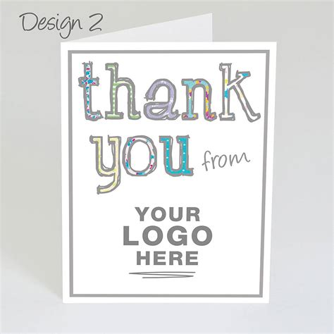 Thank You Letter Design original personalized design thank you cards best sle