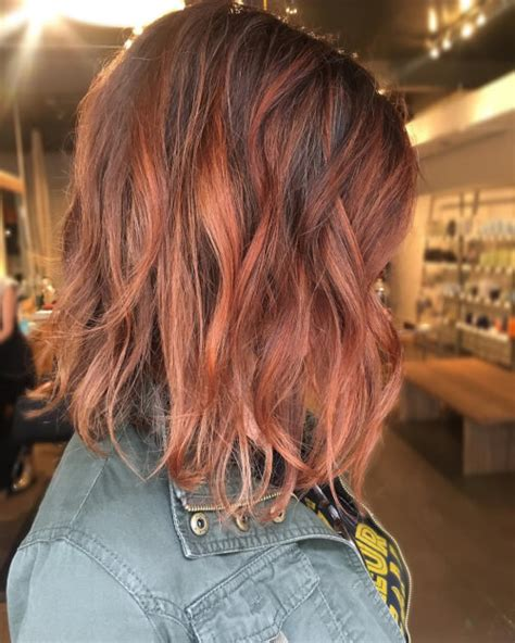hairstyles auburn highlights reddish brown hair color with blonde highlights brown hairs
