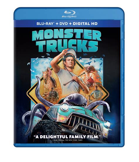 film semi bluray monster trucks blu ray release date cover art special