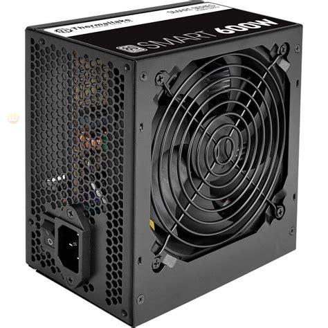 Murah Thermaltake Smart Dpsg 600w thermaltake 600w smart sp 600ah2nkw atx12v eps12v power supply lucomputer sku 34241