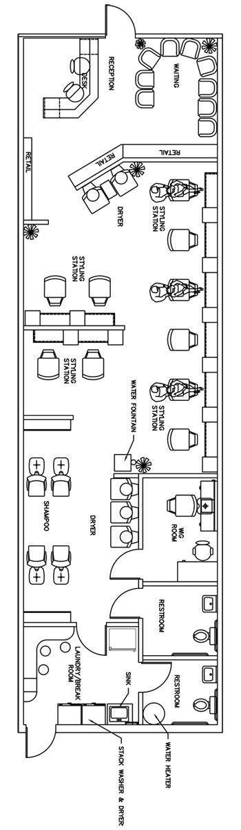 beauty salon floor plan design layout 650 square foot r 27 best salon floor plan images on pinterest beauty