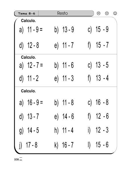 sumas y restas para ninos de primer grado sumas y restas para primer grado sumas y restas para