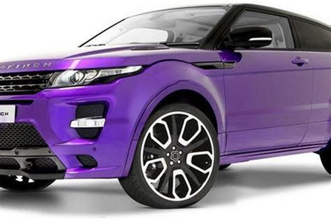 purple range rover purple haze for the 163 90 000 range rover evoque 2012 gts
