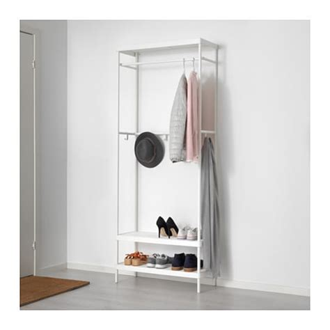 coat rack with shoe storage mackap 196 r coat rack with shoe storage unit 78x193 cm ikea