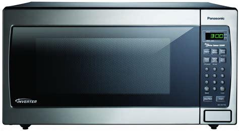 Panasonic Countertop Microwave Reviews by Panasonic Nn Sn773saz Stainless 1 6 Cu Ft Countertop