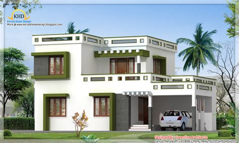 indian home design gallery modern square house design 1700 sq ft kerala home