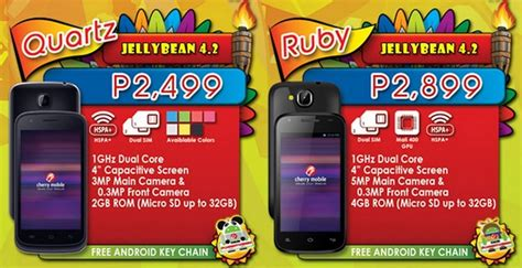 themes for cherry mobile ruby cherry mobile quartz ruby budget smartphones now