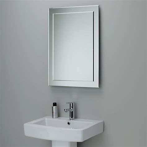 bathroom mirror uk buy john lewis duo wall bathroom mirror 70 x 50cm john