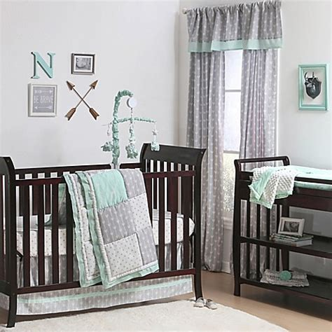 The Peanut Shell 174 Woodland Crib Bedding Collection In Grey Grey Crib Bedding