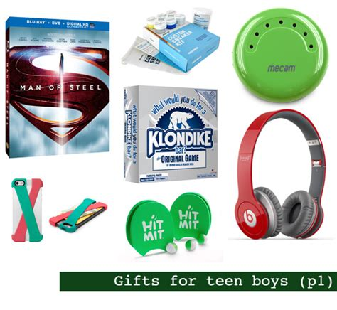 2013 holiday gift guide gifts for teen boys shop girl daily