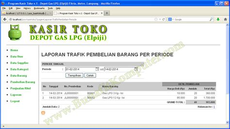 Software Kasir Toko Rene2 Pos 1 program kasir php mysql wowkeyword