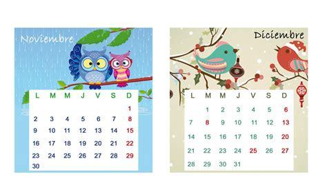 calendario de noviembre de 2015 calendario de mesa 2015 mesas de noviembre y diciembre