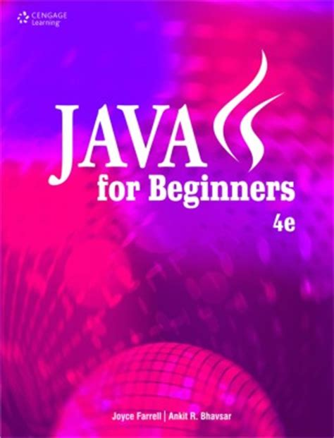 best java books for beginners java for beginners 4th edition by joyce farrell buy