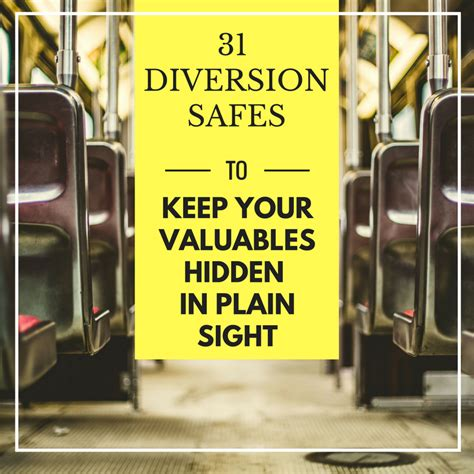 In Plain Sight 31 diversion safes hide your valuables in plain sight