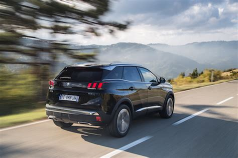 peugeot 3008 2017 black geneva car of the year 2017 peugeot 3008
