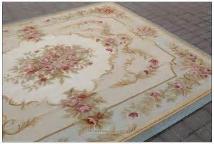 aubusson rug blue ivory w pink aubusson area rug free ship wool