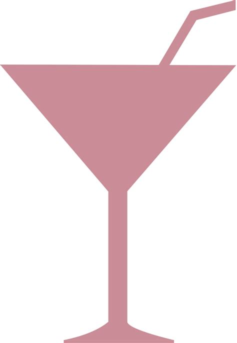 File Martini Glass Icon Svg Wikimedia Commons
