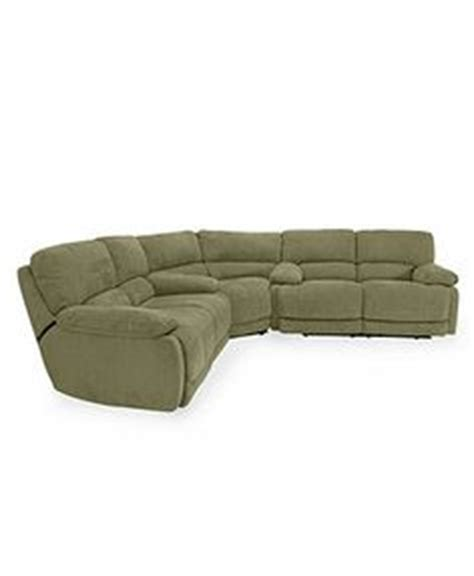 jedd fabric reclining sectional sofa 6 power