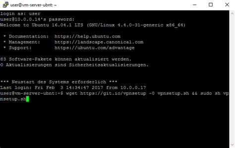 Setup Ubuntu Server As Vpn | ipsec l2tp vpn server unter ubuntu einrichten aeq web com