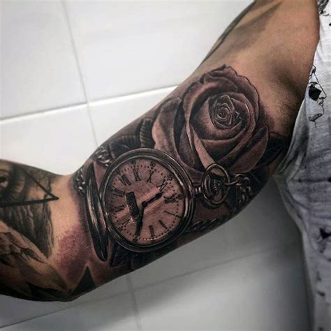 masculine rose tattoo 200 popular pocket and meanings september