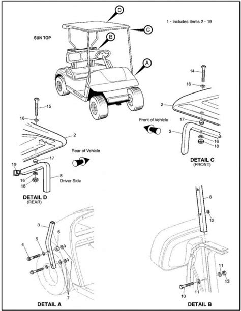 wiring diagram for golf cart turn signals wiring wiring