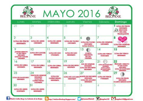 almanaque mayo 2016 witch s coffee shop la cafeter 237 a de las brujas mayo 2016
