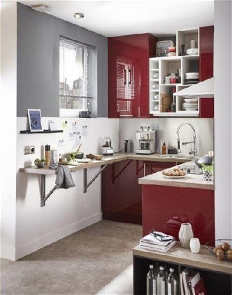 Superbe Idee Amenagement Cuisine Petit Espace #1: amenagement-petite-cuisine-en-u-leroy-merlin.jpg