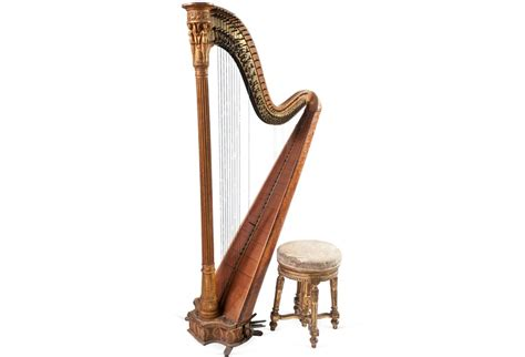 Harp Stools by Antique Harp Stool Harp