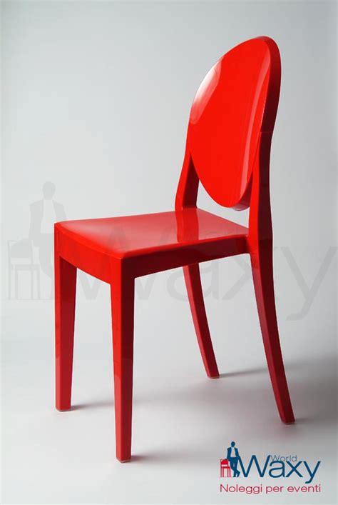 kartell catalogo sedie kartell sedia ghost rosso