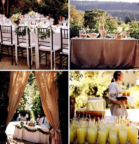 backyard wedding ideas how to throw a backyard wedding the food table decor